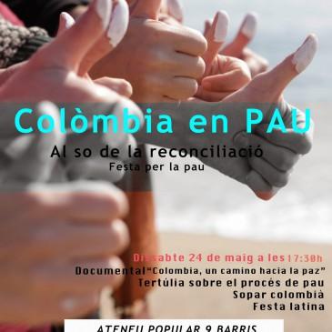 AL sonido de la reconciliación – Fiesta por la paz. Al so de la reconciliació. Festa per la pau