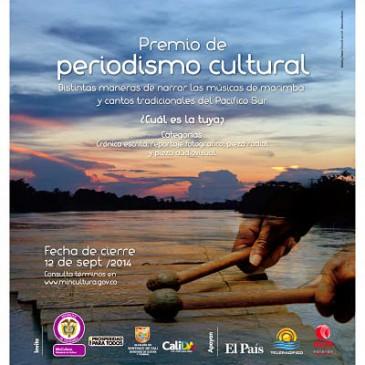 Abierta convocatoria para Premio periodismo cultural