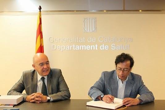 Bogotá y Cataluña firman convenio en salud y prevención