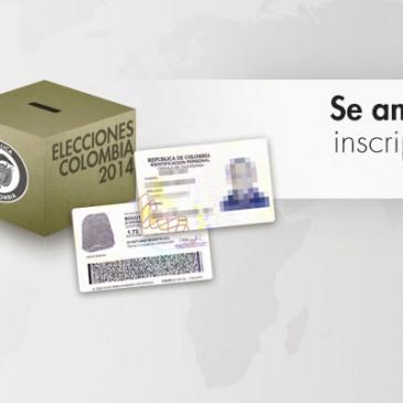 25 de marzo: nuevo plazo de inscripción de cédulas en el exterior para votar en las elecciones presidenciales