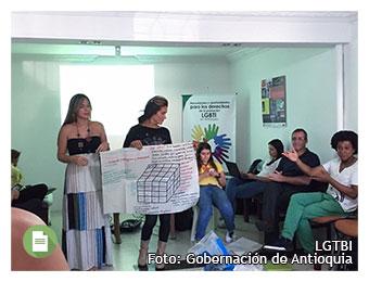 Antioquia reconoce las necesidades y oportunidades de la población LGBTI