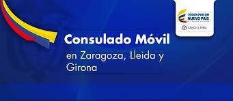 La Unidad Móvil del Consulado General de Colombia en Barcelona se desplazará a Zaragoza, Lleida y Girona en noviembre